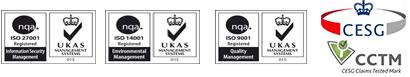 ISO 27001 UKAS Logos